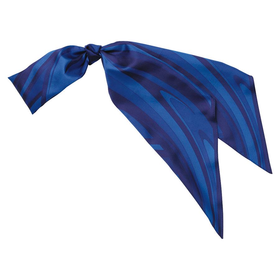 ロングスカーフ EAZ−604 6 ブルー