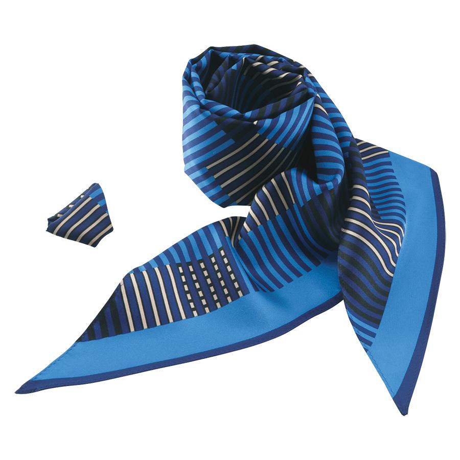 ロングスカーフ EAZ−563 6 ブルー