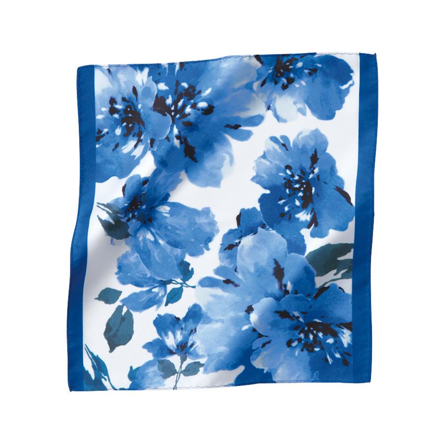 ミニスカーフ EAZ−667 6 ブルー