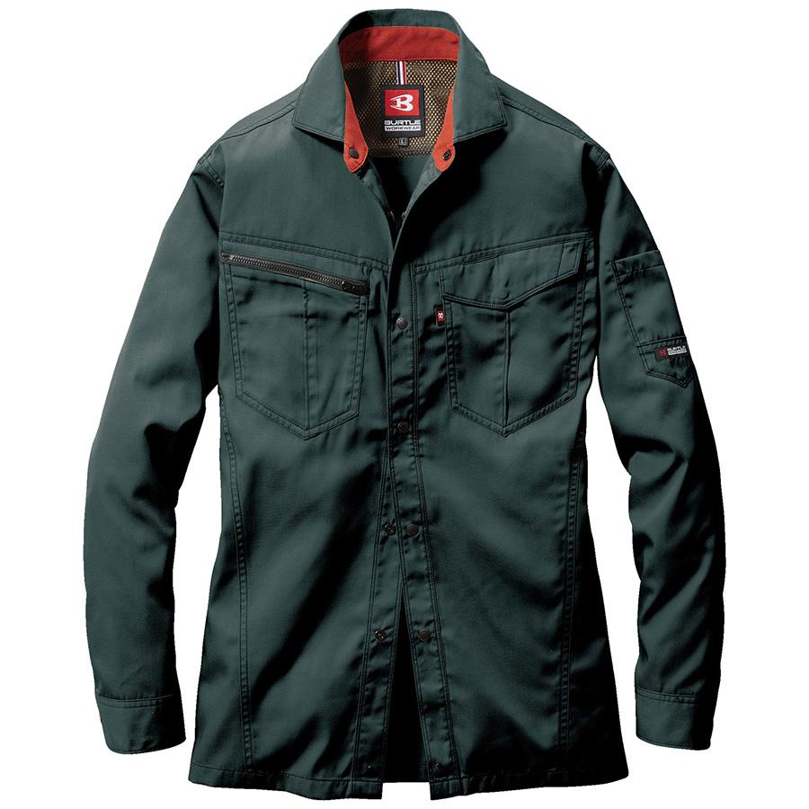 長袖シャツ 6083−17 クーガー (5L)