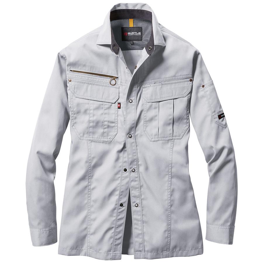 長袖シャツ 6103−5 シルバー (4L)