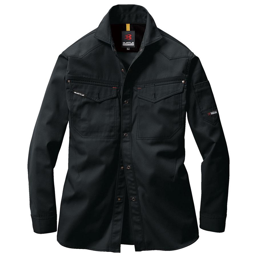 長袖シャツ 1205−35 ブラック (4L)