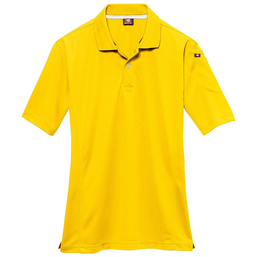 半袖ポロシャツ 305−008 イエロー (5L)