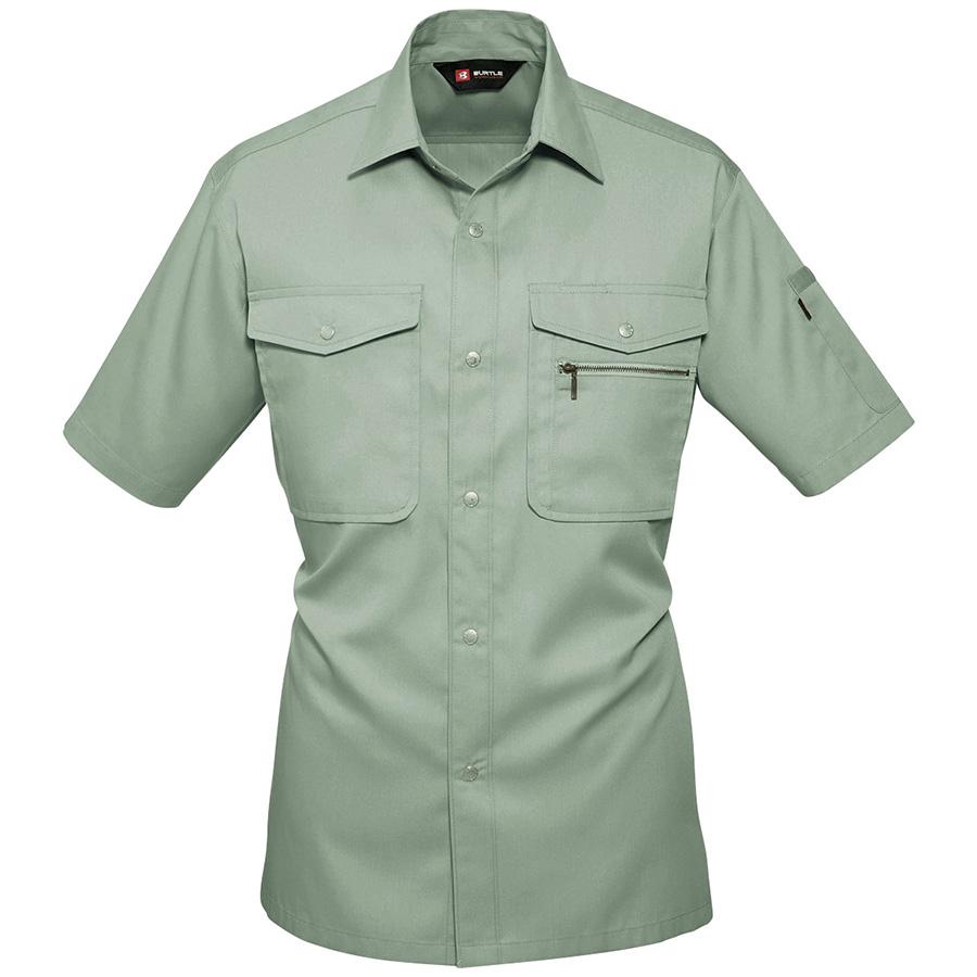 半袖シャツ 621−1 アースグリーン (S〜3L)