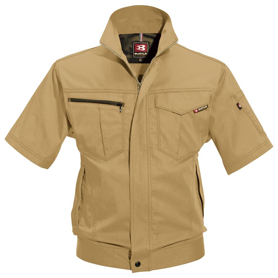 半袖ジャケット 6082−24 キャメル (5L)