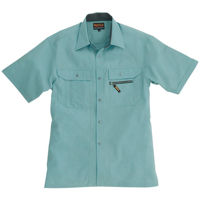 半袖シャツ 7035−1 アースグリーン (5L)