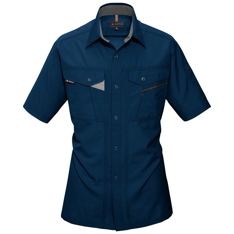 半袖シャツ 7065−3 ネイビー (4L)