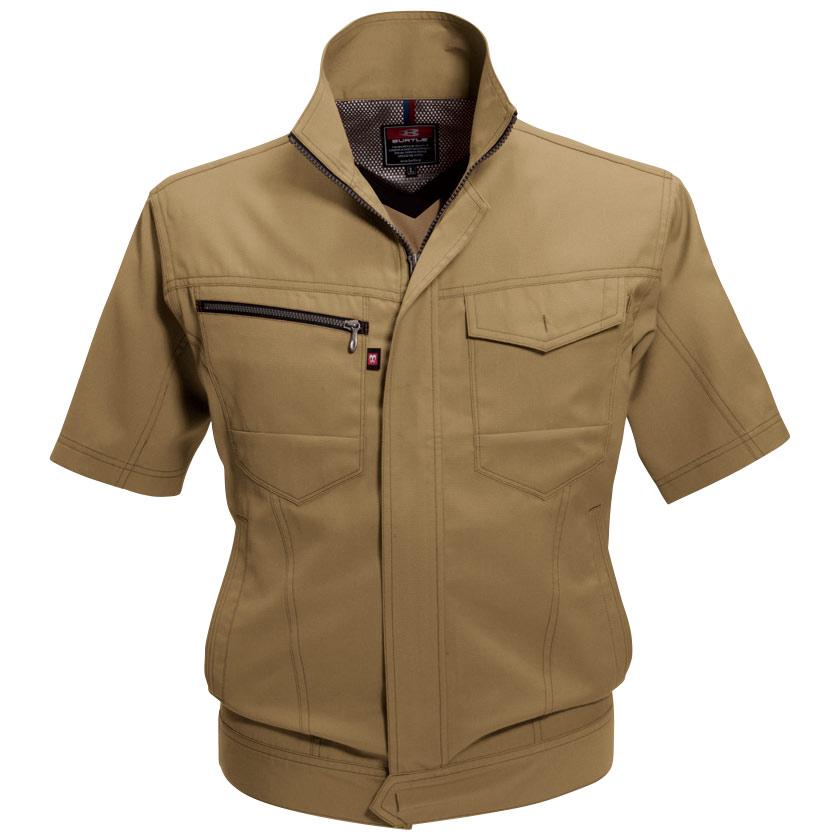 半袖ジャケット 7092−24 キャメル (5L)