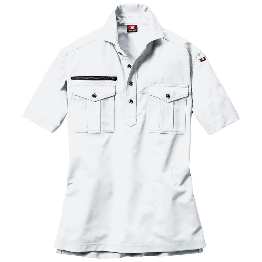 半袖シャツ 707−029 ホワイト (SS〜3L)