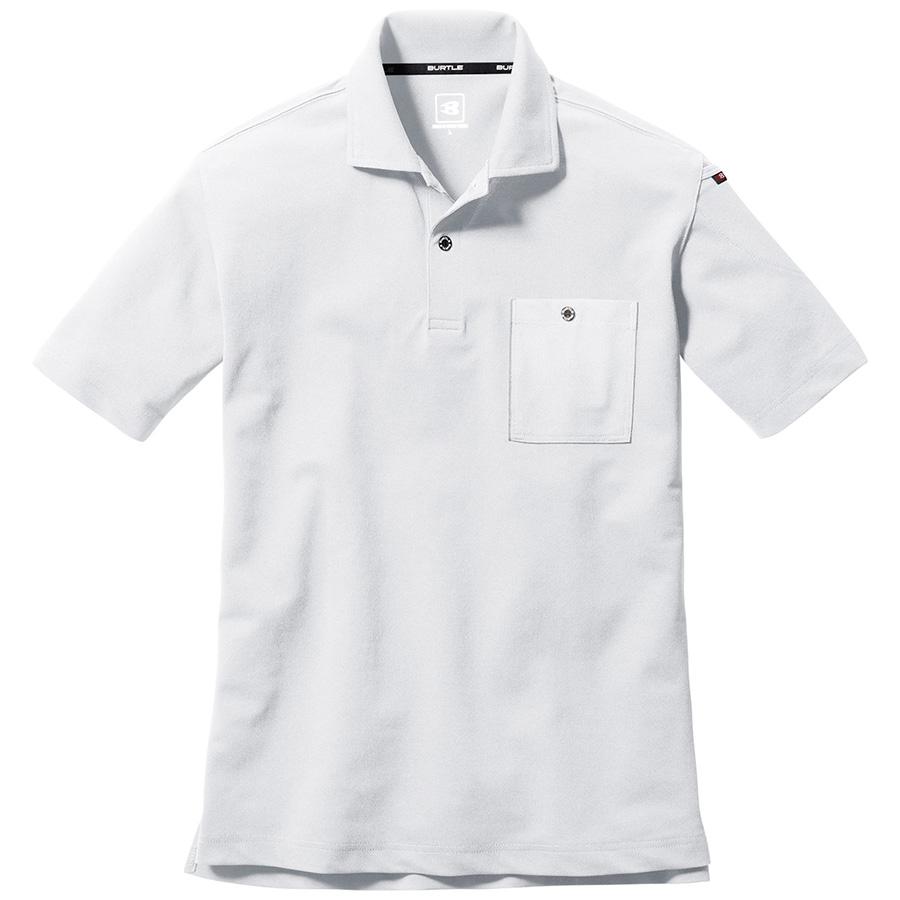 半袖ポロシャツ 667−029 ホワイト (SS〜3L)