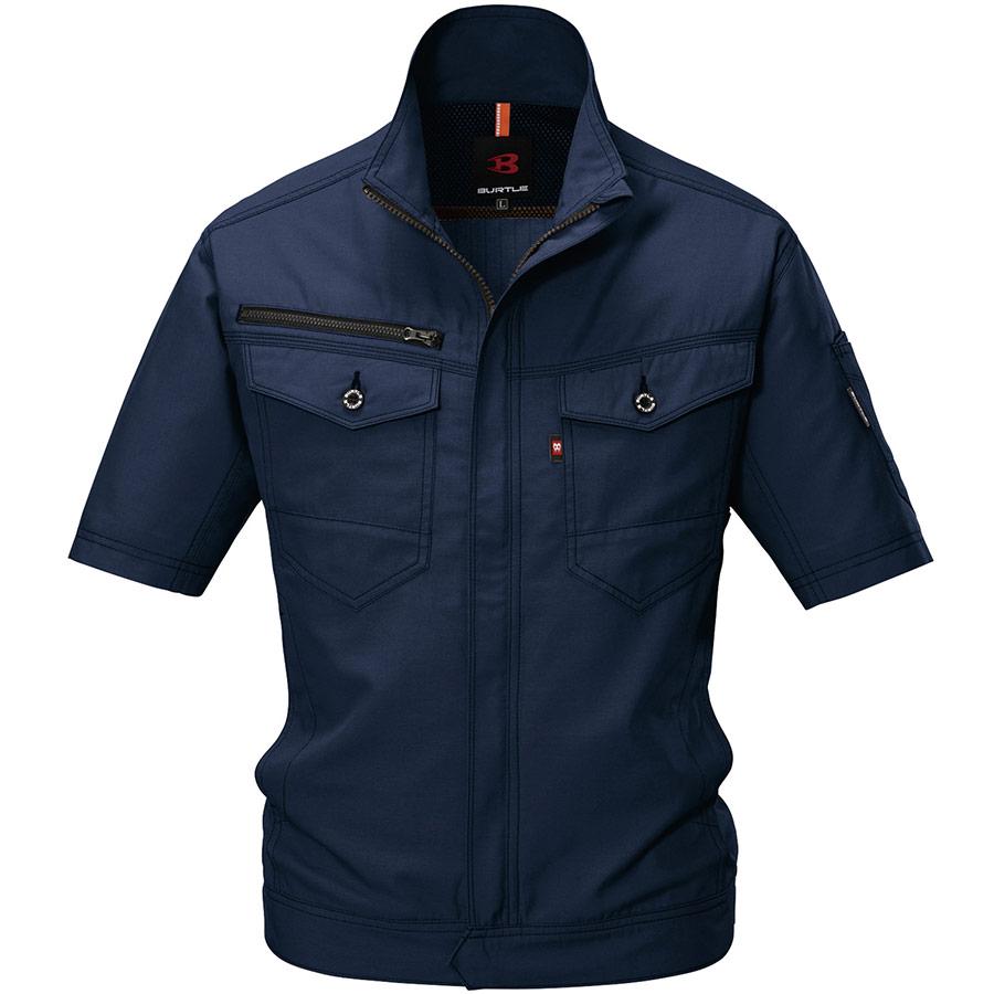 半袖ジャケット 9086−3 ネイビー (4L)