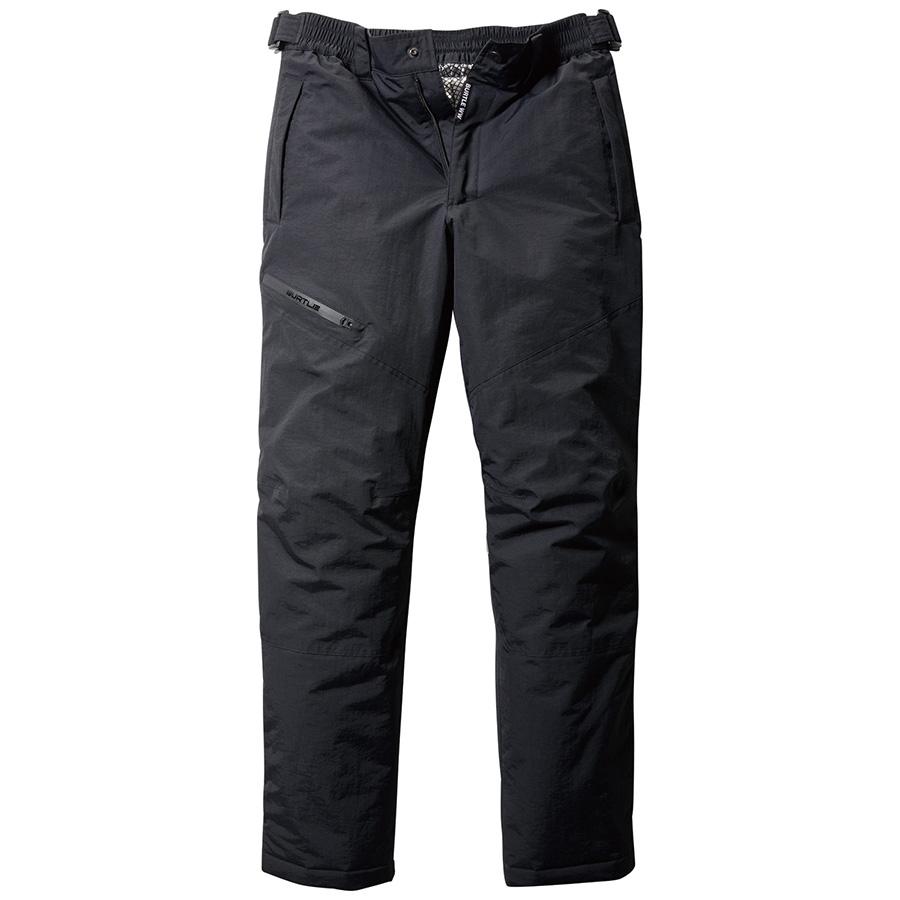 防水防寒パンツ 7612−35 ブラック (S〜3L)