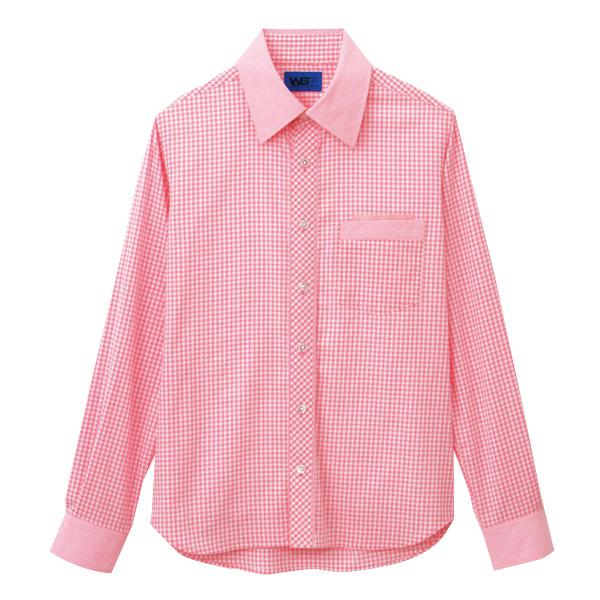 ユニセックス 長袖シャツ 63416 ピンク