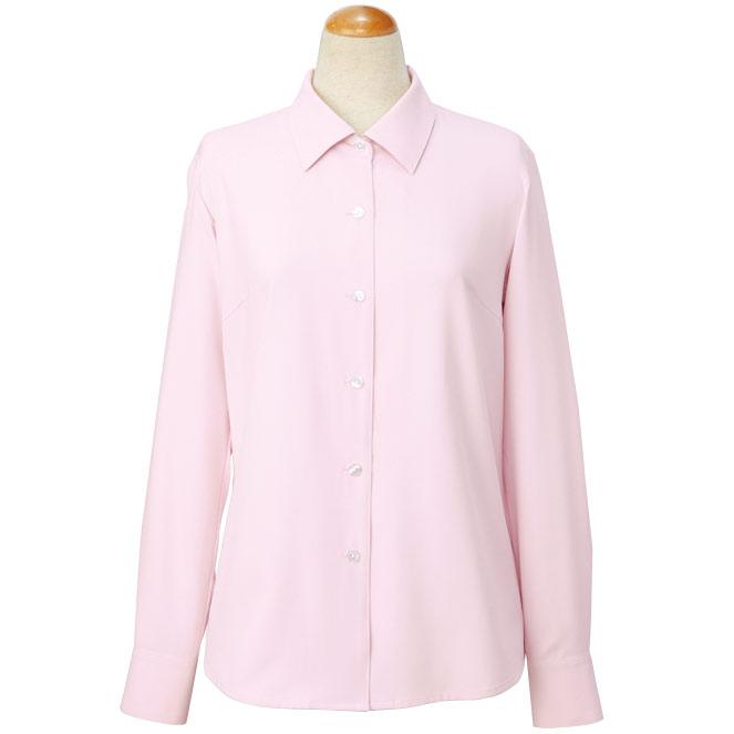 cressai 長袖ブラウス 36506 ピンク (5〜19号)