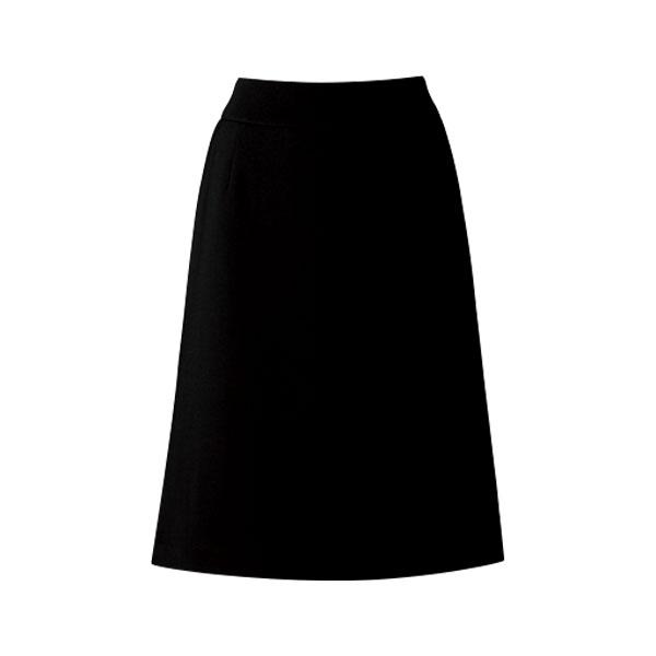 Aラインスカート 16250 ブラック (5〜19号)