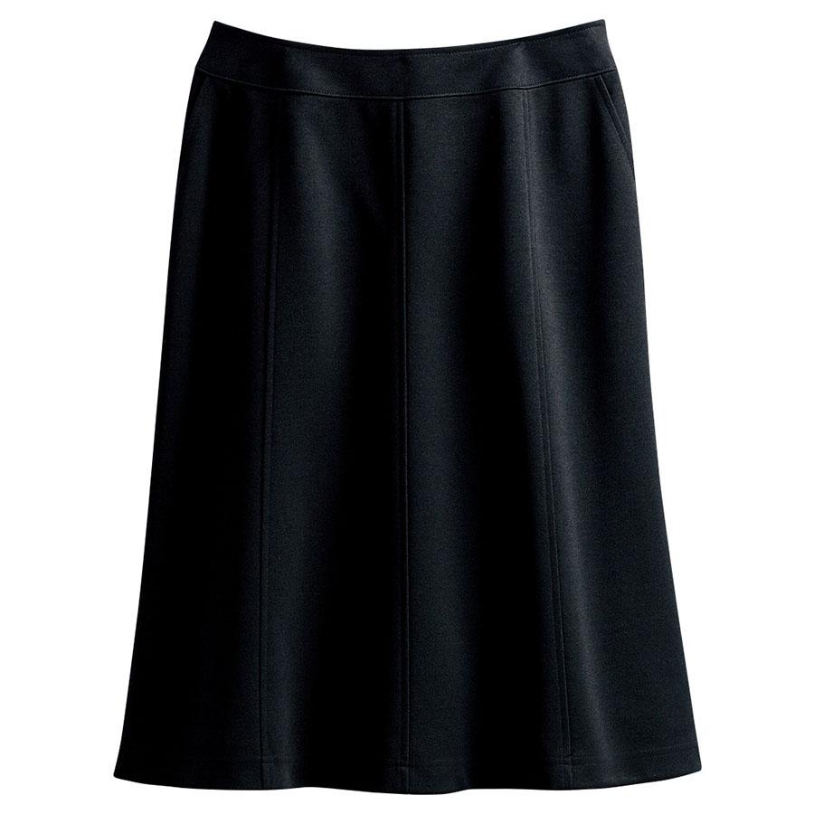 マーメイドスカート (55cm丈) 16470 ブラック (5〜19号)