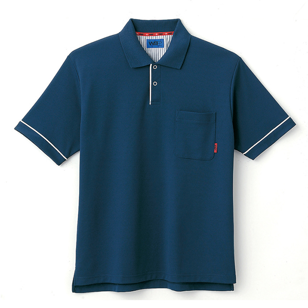 ユニセックス ポロシャツ 65041 ネイビー 4L