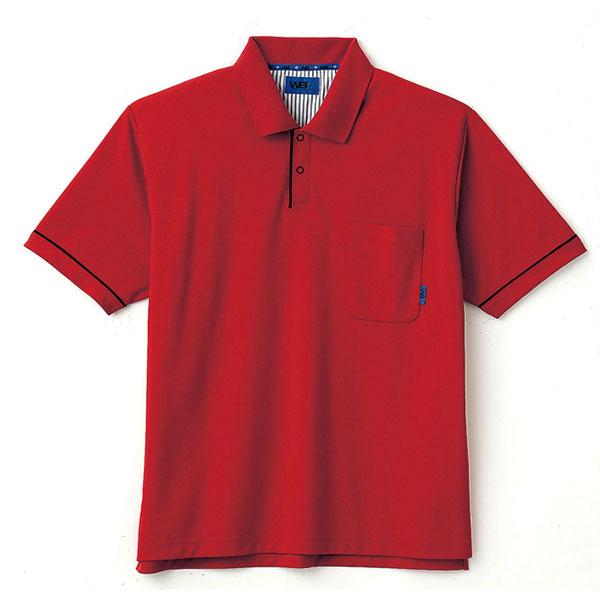 ユニセックス ポロシャツ 65043 レッド