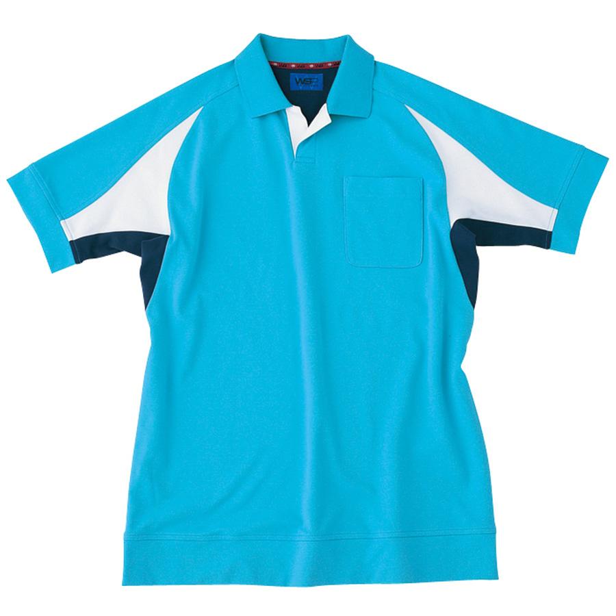 ユニセックス ポロシャツ 65052 サックス