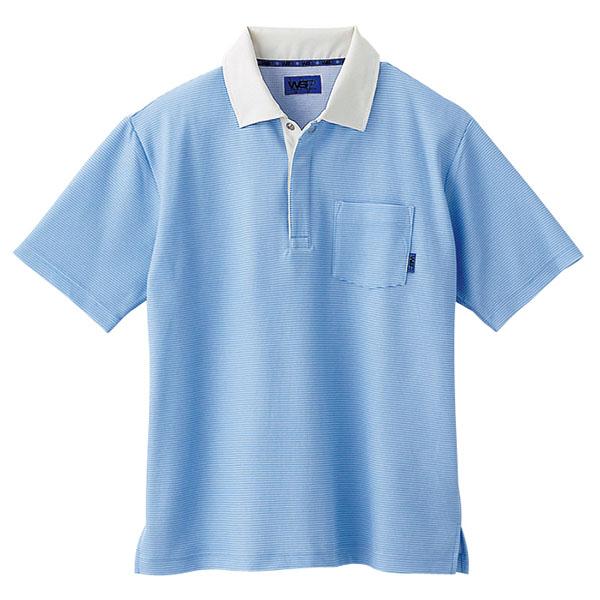 ユニセックス ポロシャツ 65122 サックス 4L