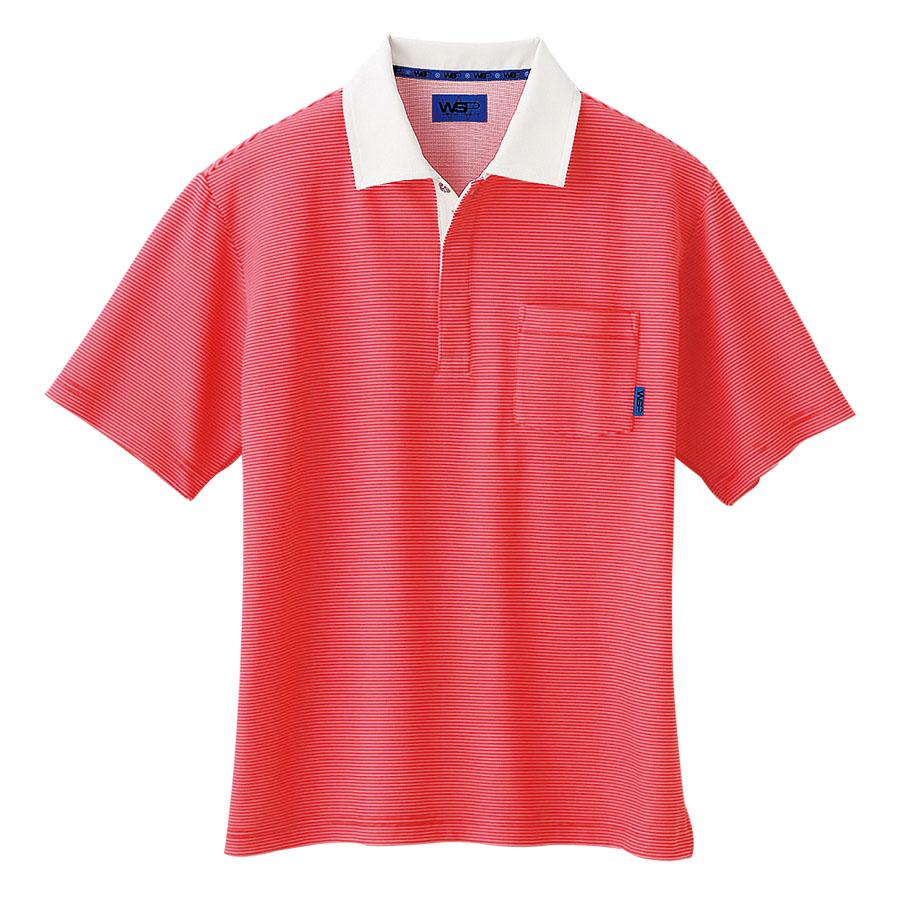 ユニセックス ポロシャツ 65123 レッド