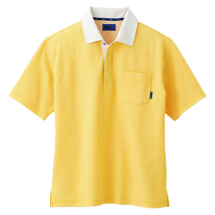 ユニセックス ポロシャツ 65124 イエロー