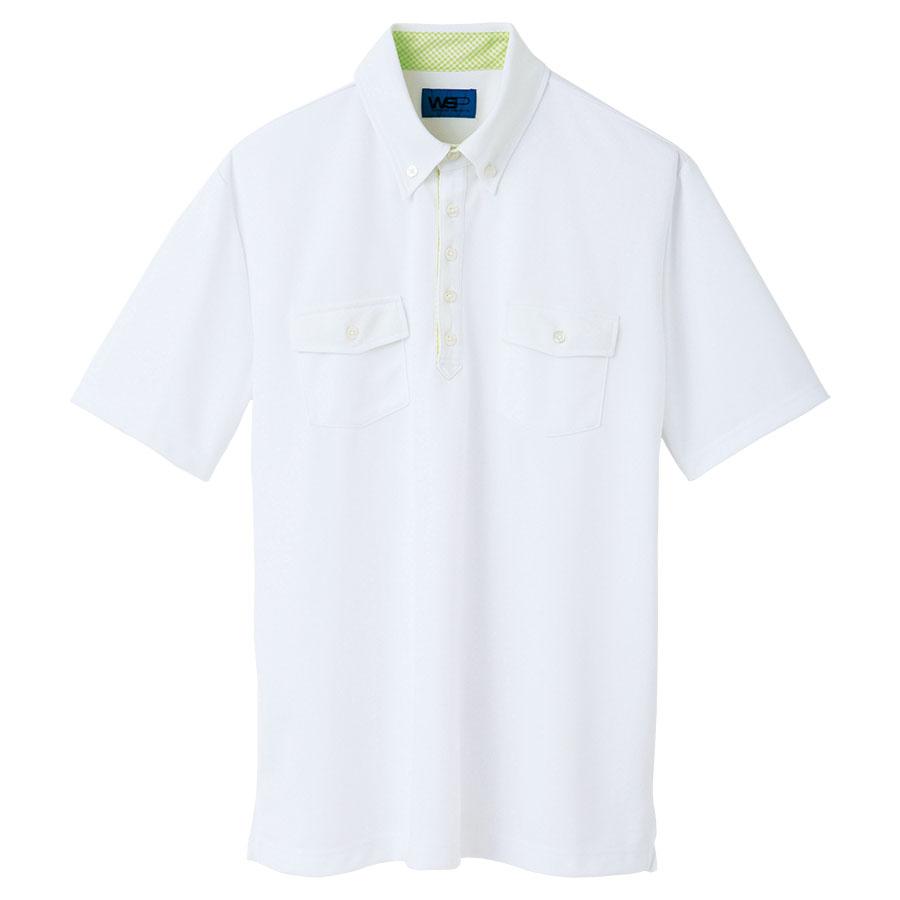 ユニセックス ポロシャツ 65248 ホワイト