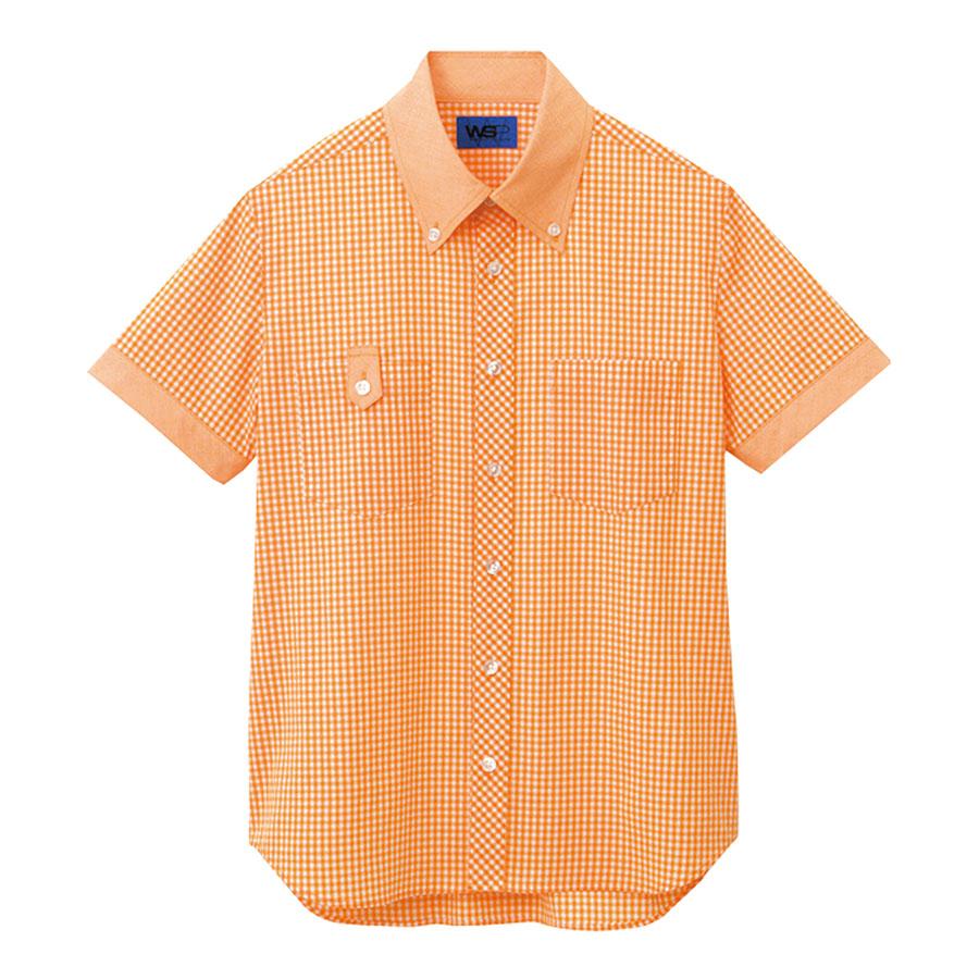 ユニセックス 半袖シャツ 63404 オレンジ
