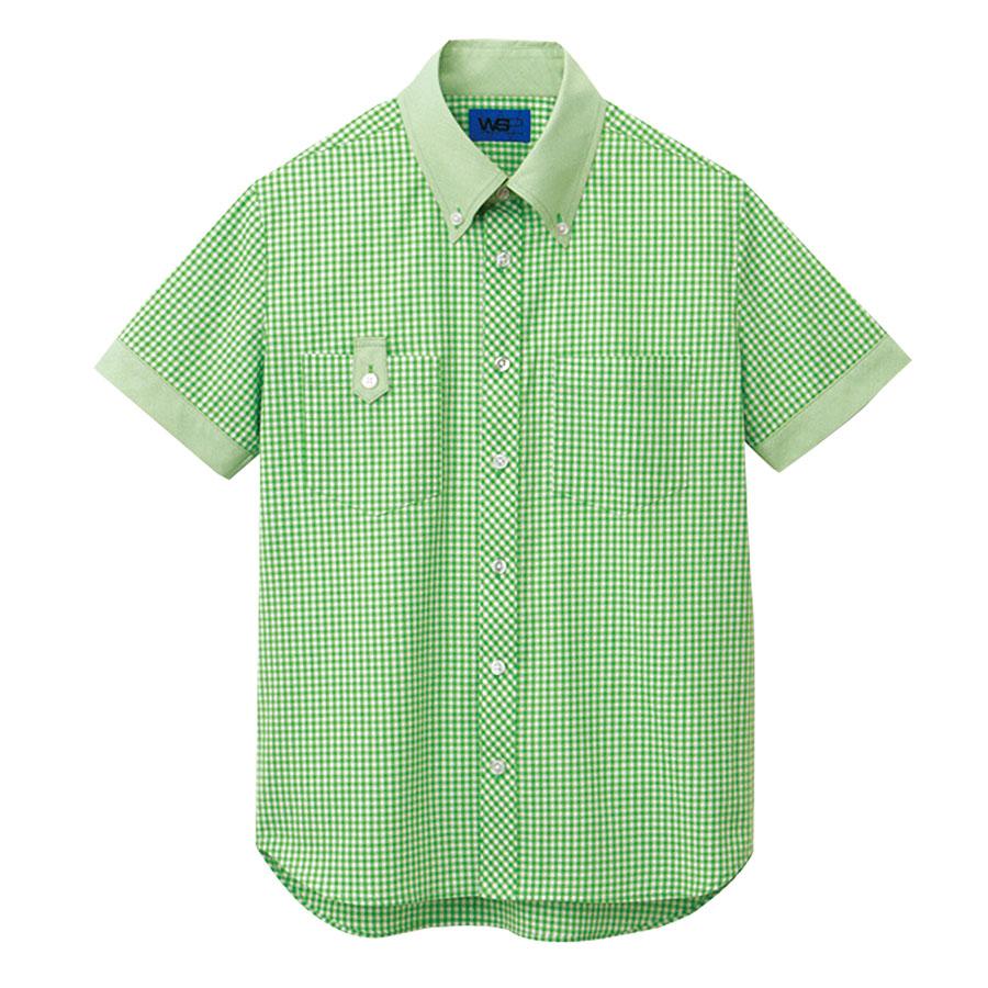 ユニセックス 半袖シャツ 63405 グリーン 4L