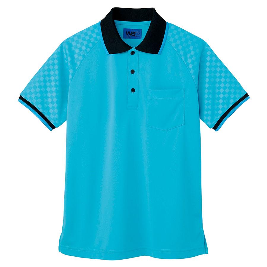 ユニセックス ポロシャツ 65352 ターコイズ 4L