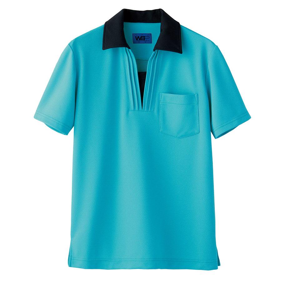 ユニセックス ポロシャツ 65395 ピーコックグリーン 4L