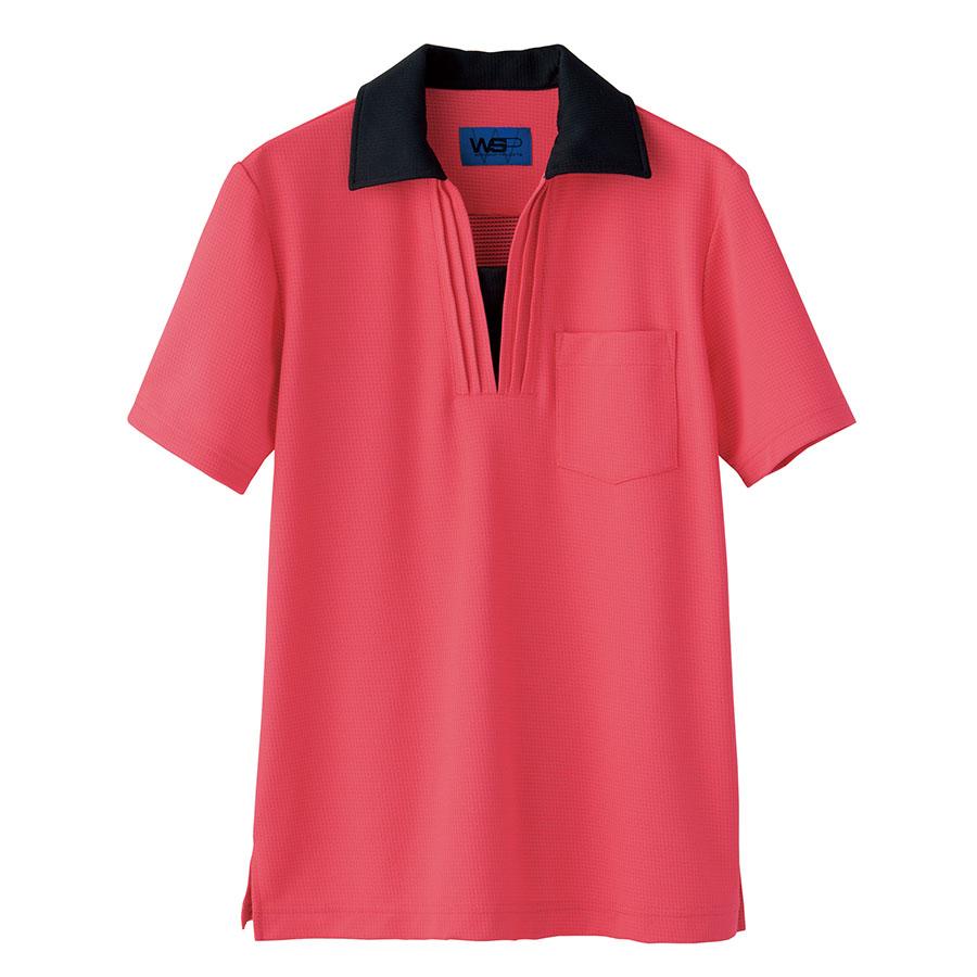 ユニセックス ポロシャツ 65396 ピンク 4L