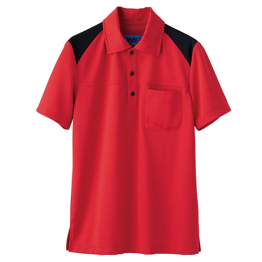ユニセックス ポロシャツ 65403 レッド SS〜3L
