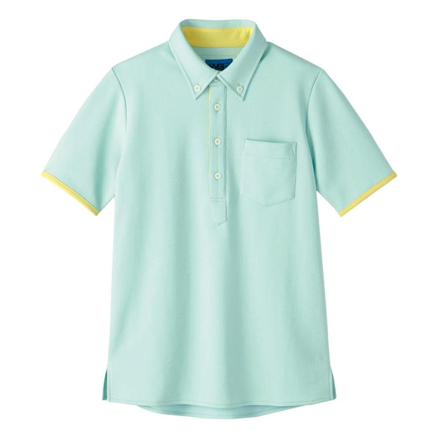 半袖ポロシャツ 65575 グリーン 4L