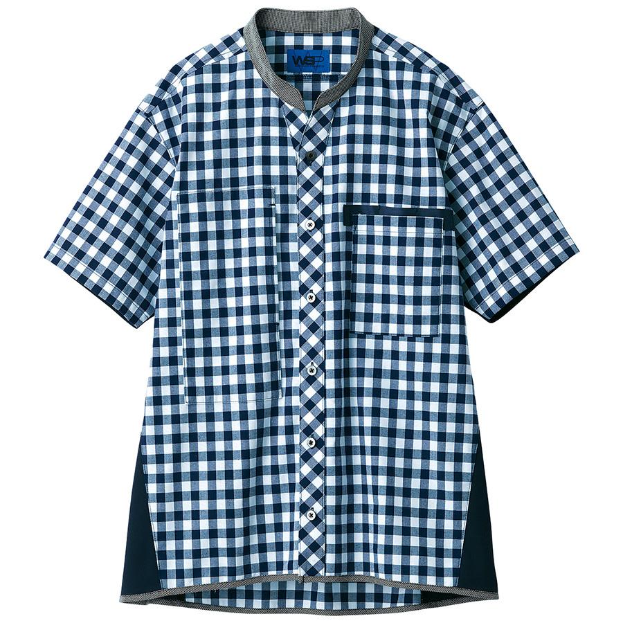 半袖シャツ 63511 ネイビー SS〜3L