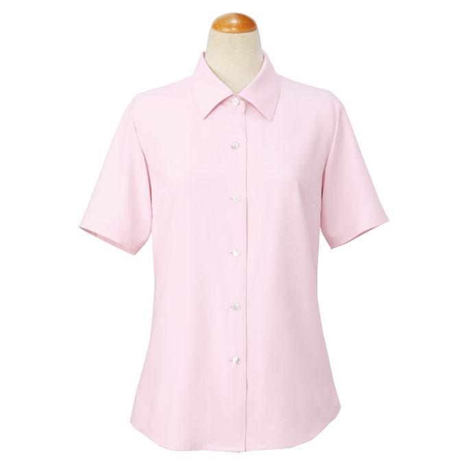 cressai 半袖ブラウス 36496 ピンク (17・19号)