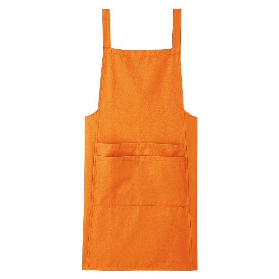 ユニセックス エプロン 69334 オレンジ