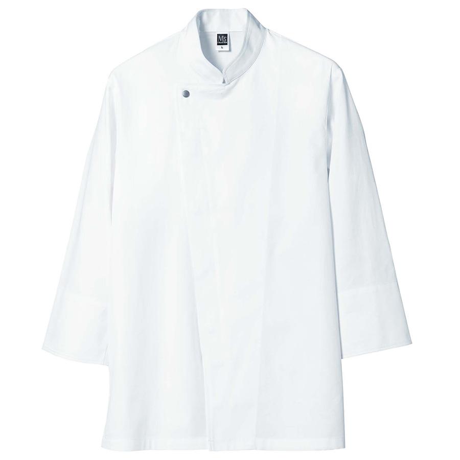 八分袖コックコート 2071 03 サラシ