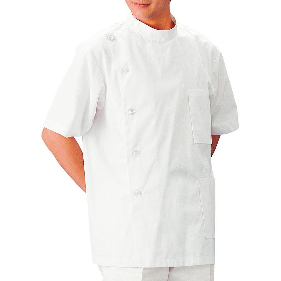 SKA520 (白衣上衣) ホワイト S〜3L