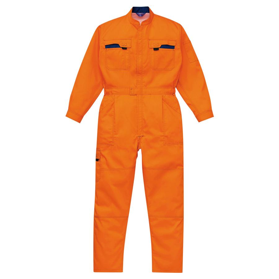 ツナギ服 K40000−200 オレンジ