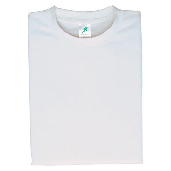 ポリエステル半袖Tシャツ(クールプラス) T12PL−12 ホワイト