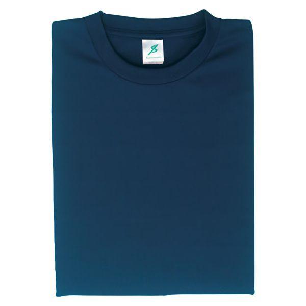 ポリエステル半袖Tシャツ(クールプラス) T12PL−33 ネイビー