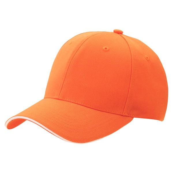 ツイルキャップ 6527 オレンジ