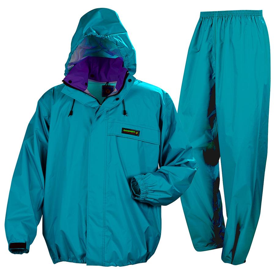 雨衣 オールマインドスーツ #3250 ターコイズ
