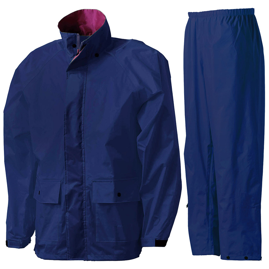 雨衣 フィールドスーツ A−419A ネイビー