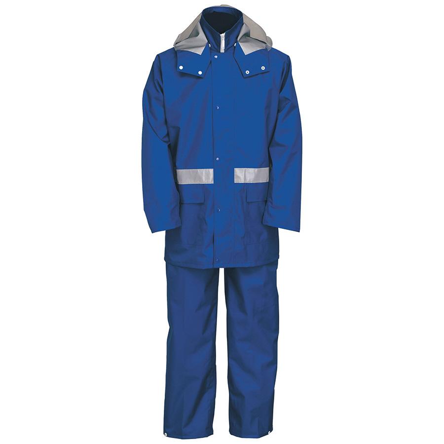 雨衣 8950 ナダレスレインスーツ ブルー