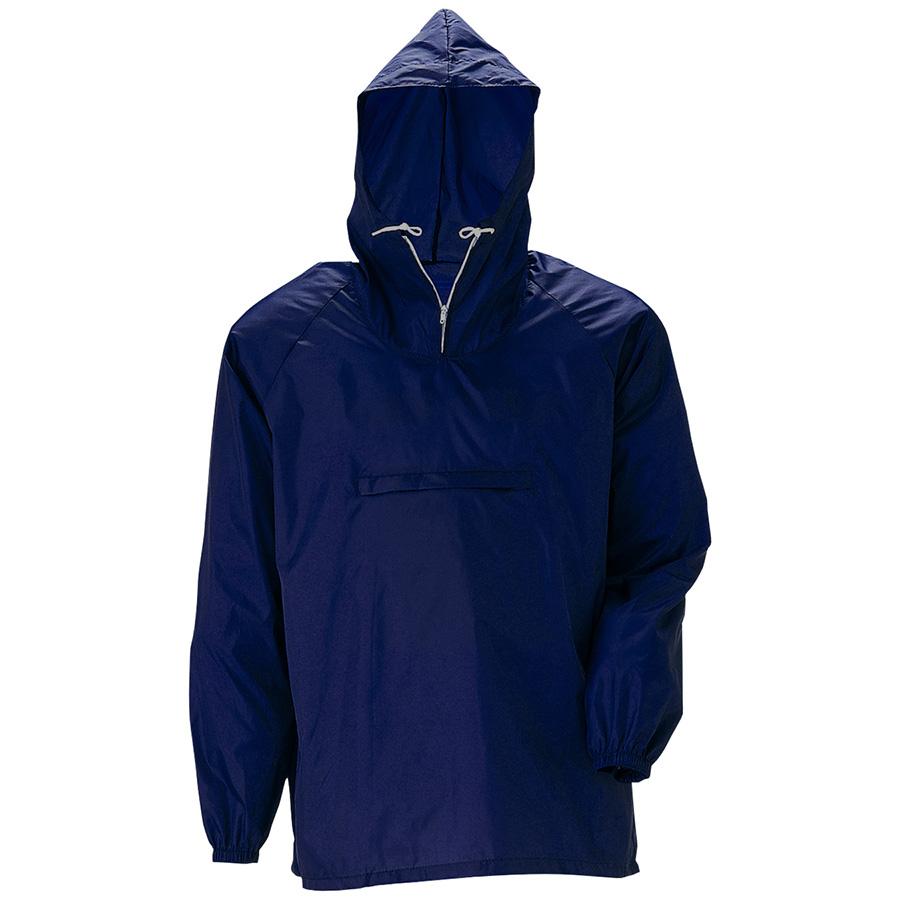 雨衣 ナイロンヤッケ ネイビー 4L