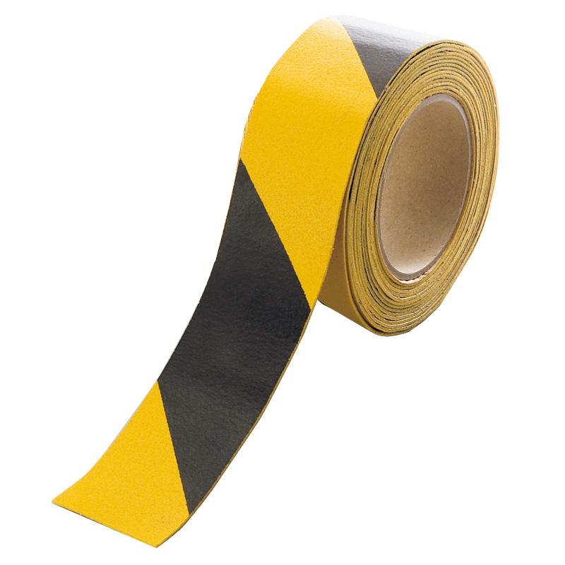 路面貼用テープ 374−29 ユニラインテープ トラ・50mm幅×5m