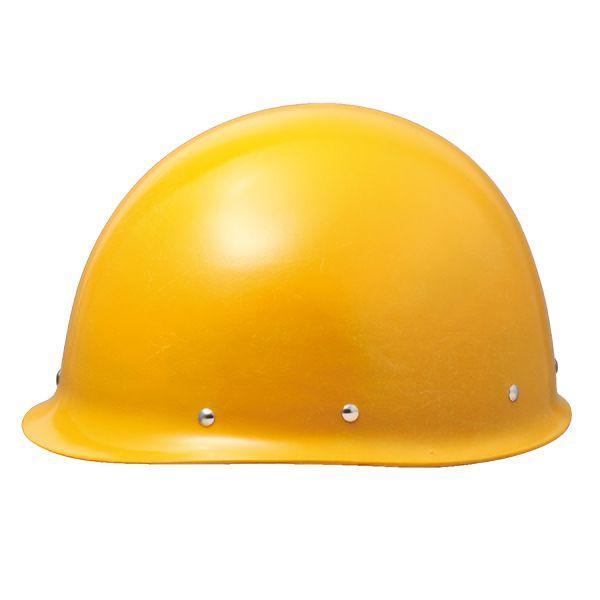 メタル鋲仕様 MP型ヘルメット SC−MMT RA F イエロー