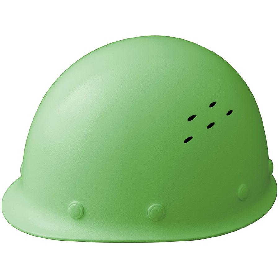 通気孔付 軽量ヘルメット SC−LMV RA KP付 モスグリーン